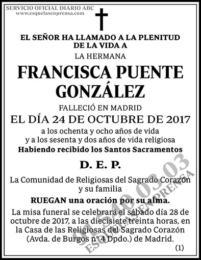 Francisca Puente González